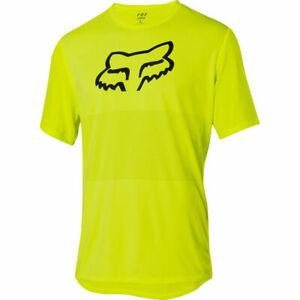 Fox Racing Ranger s/s Short Sleeve Fox Head Jersey Flo Yellow