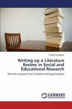 Writing Up a Literature Review in Social and Educational Research (Paperback or
