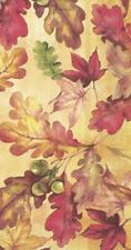 IHR Bright Autumn Leaves Guest Towel Paper Napkins 16-Pack Disposable 3-Ply