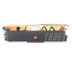 Tech 2 Tube Wireless Bluetooth Black Speaker NIB Party Mode 5+ Hours