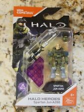 Mega Bloks Construx Halo Heroes Series 6 Spartan Jun A266 Figure Set FMM69 NISB