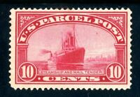 USAstamps Unused FVF US 1913 Parcel Post Mail Steamship Scott Q6 OG MLH