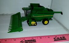 1/64 ERTL custom John deere S670 combine w/ smarttrax 12 row corn head farm toy