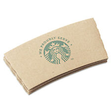 Starbucks Cup Sleeves For 12/16/20 oz Hot Cups Kraft 1380/Carton 11020575
