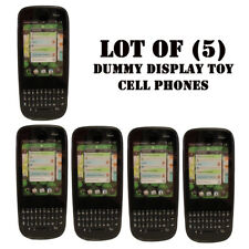 Lot of (5) Verizon Palm Pixi Plus Mock Dummy Display Toy Cell Phone for Display
