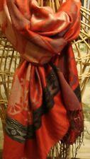 100% cashmere / silk mix, scarf/ shawl,silk mix.New