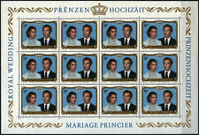 """Luxembourg - """"ROYALTY ~ ROYAL WEDDING"""" SG # 1071 MNH MS 1981 !"""