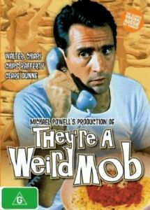 THEY'RE A WEIRD MOB DVD 1966 NEW R4 Walter Chiari, Claire Dunne, Chips Rafferty