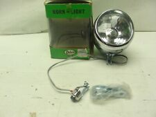 NOS Vintage Deluxe Chrome Bicycle Bike Light and Horn # 491 Schwinn Raleigh Trek