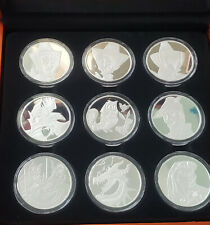 New Disney Parks Exclusive Sleeping Beauty 60th Anniversary 9 piece Coin Set