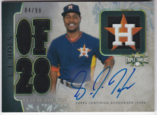 2014 Topps Triple Threads #113 L.J. Hoes Auto Jersey /99 - NM-MT