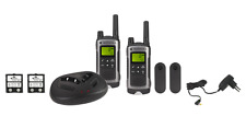 Motorola PMR Sprechfunkgerät Handfunkgerät T80 Walki Talki Set bis zu 10km Grau