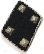 WWII GERMAN WAFFEN STURMBANNFÜHRER OFFICER COLLAR TABS