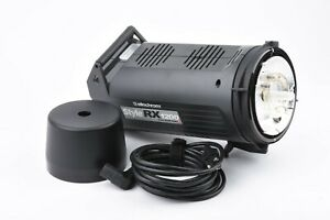 EXC++ ELINCHROM STYLE RX1200 STUDIO LIGHTS, POWER CORD, COVER, TESTED, GREAT!