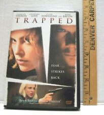 Trapped (DVD, 2002) MOVIE EXCELLENT ADULT OWNED