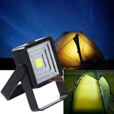 Portable LED Rechargeable Solar Panel Light Outdoor Camping Lantern Hiking Lamp