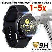 5x For Samsung Galaxy Watch ACTIVE 2 Tempered Glass Screen Protector 40/44MM CA