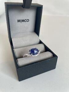 "MIMCO ""Mimprecious"" Sterling Silver & Natural Lapis Lazuli Ring. RARE. BNIB."