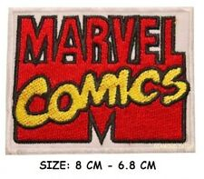 MARVEL COMICS Company / Movie Logo - Iron-On Embroidered Patch