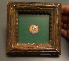 Medaille a l l'effigie de l Aiglon dans cadre ancien