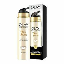 Olay Total Effects 7 in One Day SPF 15 Lightweight Anti-Ageing Cream - 50 Gram