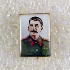 STALIN SOVIET POLITICAL COMMUNIST LEADER USSR RUSSIA PIN BADGE
