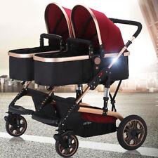 Zwilling Kinderwagen Kombikinderwagen Baby Pram Reisebuggy-Sportwagen