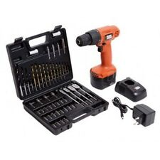 Black&Decker CD121K50 Cordless Drill Driver 12V with 50pcs Kit