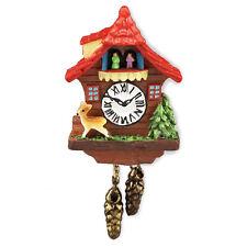 Reutter Porzellan Kuckucksuhr / Cuckoo clock Red Puppenstube 1:12 Art 1.394/5