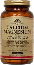 Calcium Magnesium With Vitamin D Solgar 150 Tabs