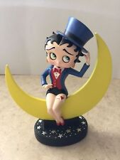 Extremely Rare! Betty Boop Sitting on the Moon Figurine Statue
