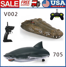 Flytec V002/705 Rc Racing Boat 2.4G Remote Control Toys Kids Gift for Pools O2L8