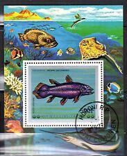 0156++COMORES  BLOC  POISSONS 1977