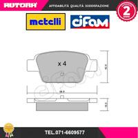 8223230 Kit pastiglie freno post.Alfa Romeo-Fiat-Lancia (MARCA-CIFAM,METELLI)