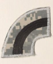 Army Patch:  42nd Infantry Division - black on gray digital camo