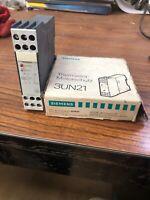 Siemens 3UN21 Thermistor Power Supply Relay (Z1)