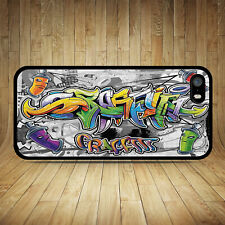 GRAFFITI STREET ART PHONE CASE IPHONE 4S 5S SE 5C 6S 7 8 PLUS X XR 11 MAX