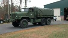 Military Truck 14' Cargo cover w/ built in end-curtains Green vinyl  M809, M939