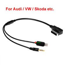For Audi VW iPod iPhone 5 6 Car Cable AUX AMI MMI Audio Interface Lead Connector