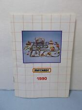 Matchbox 1990 Collectors Vintage Catalog  USA Edition Original COOL