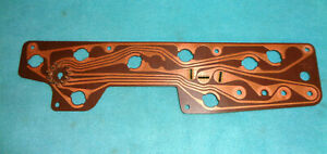1971-74 MOPAR B-BODY STANDARD DASH GAUGE CLUSTER PRINTED CIRCUIT BOARD # 2985415