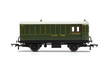 Hornby R40088 OO Gauge SR 4 Wheel Coach Brake Baggage 762 - Era 3