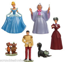 Disney Store Cinderella Play Set Figure Cake Toppers New