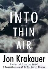 Into Thin Air: A Personal Account of the Mount Everest Disaster (Moder-ExLibrary