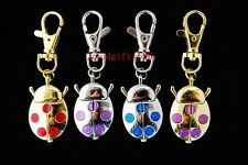 New 10pcs Cute Ladybug design girl boy Key Ring watches gifts (4 colours) L63