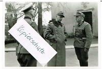 WW 2 General de Angelis und Gebirgsjäger General 2. Panzer Armee 1944