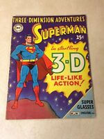 SUPERMAN THREE DIMENSION ADVENTURES #nn - 1953, 3-D, ORIGIN, SUPER COOL!!!
