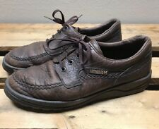 Mephisto Mens US Size 8 US Brown Leather Shoe Sneaker Oxfords Casual Air Jet EUC