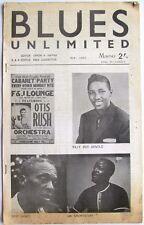 BLUES UNLIMITED magazine #22 May 1965 Skip James, Otis Rush, Billy Boy Arnold
