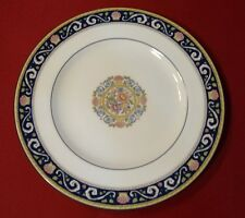 "Wedgwood Runnymede Blue W4472 Salad Dessert 8 1/8"" Plate Bone China England-EXC"